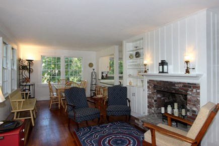 Brewster Cape Cod vacation rental - Living Room