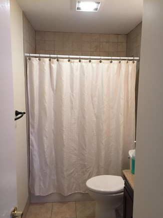 Brewster, Ocean Edge Cape Cod vacation rental - Bathroom attached to Master Bedroom