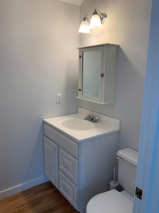 Harwichport Cape Cod vacation rental - Half Bath off family room