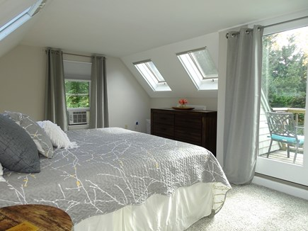 Eastham Cape Cod vacation rental - 2nd floor king bedroom with private balcony and seating