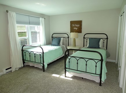 Eastham Cape Cod vacation rental - 2nd floor twin bedroom -- ensuite to full bath