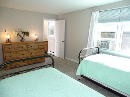 Eastham Cape Cod vacation rental - 2nd floor twin bedroom -- with entry to ensuite full bath