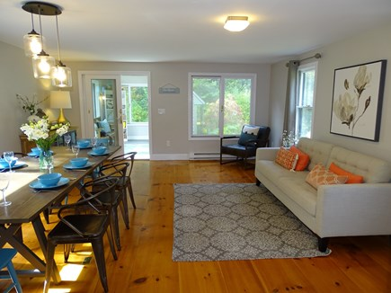 Eastham Cape Cod vacation rental - Large dining room with room for 10 with additional sitting area