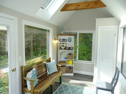 Eastham Cape Cod vacation rental - Bright mudroom entry -- ample space for all your beach gear