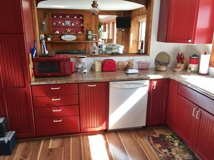 Harwich Port Cape Cod vacation rental - Kitchen + French Door Refrigerator