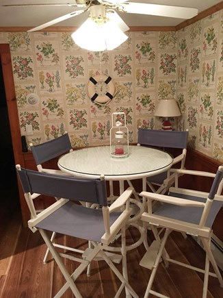 Harwich Port Cape Cod vacation rental - Kitchen table space for 4. Also DR table for 4