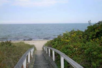 Brewster, Pineland Park Cape Cod vacation rental - Ramp to private beach