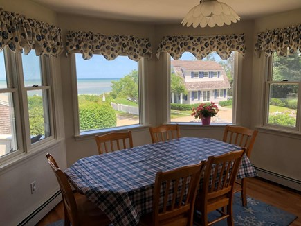 Brewster, Pineland Park Cape Cod vacation rental - 2d floor dining area w/view