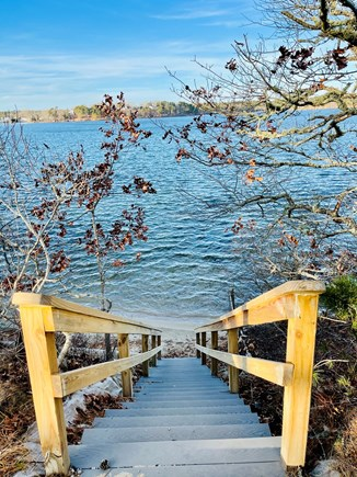 Harwich Cape Cod vacation rental - Stairs to water- one of the 3 deeded beaches (Daisy St)