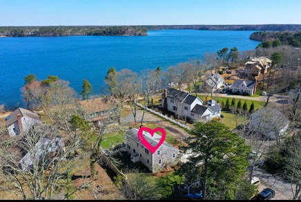 Harwich Cape Cod vacation rental - Aerial view of house