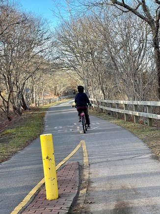 Harwich Cape Cod vacation rental - Bike trail just minute walk away