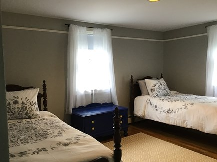 Harwich Cape Cod vacation rental - The grey twin beds room