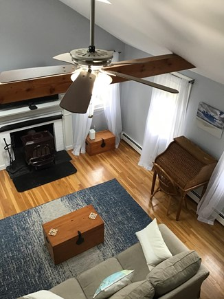 Harwich Cape Cod vacation rental - Cathedral living room