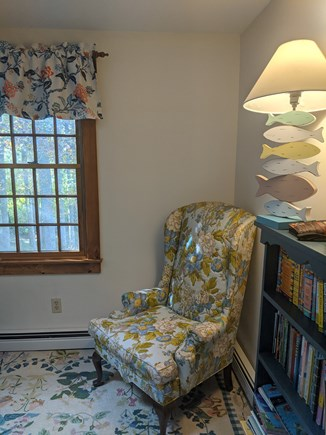 Eastham Cape Cod vacation rental - Sky-lit loft, filled with children's books and new fold-out sofa