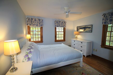 Eastham Cape Cod vacation rental - Sunny and spacious upstairs master bedroom with new queen bed