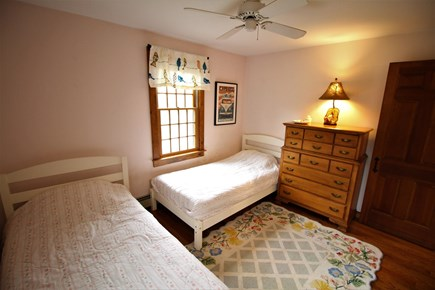 Eastham Cape Cod vacation rental - Bright and cheerful upstairs bedroom with two new twin beds