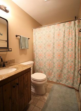 Eastham Cape Cod vacation rental - Upstairs full bathroom (bath/shower)