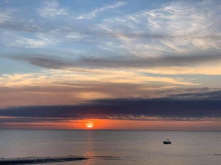 Eastham Cape Cod vacation rental - The beautiful bay features great swimming & sunsets to die for!