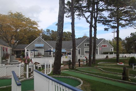 New Seabury, Pool Villa at the Mews Cape Cod vacation rental - Popponesset Marketplace with shops, food and minigolf
