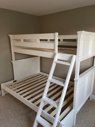 Hyannis Cape Cod vacation rental - Twin over Full Bunk Bed in Room 3