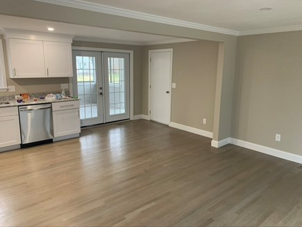 Hyannis Cape Cod vacation rental - Open Family Room will have Dining table for 6 and Sofa Love Seat