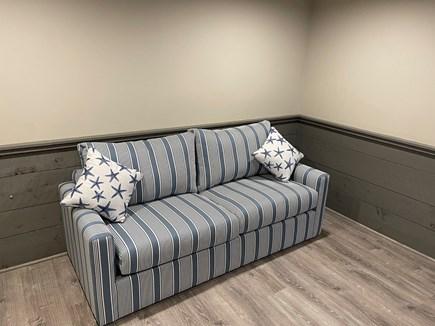 Hyannis Cape Cod vacation rental - Queen Sleeper Sofa in Basement