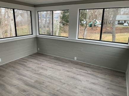 Hyannis Cape Cod vacation rental - Covered Sunroom with enough seating