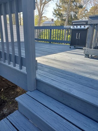 Hyannis Cape Cod vacation rental - Deck will have Table and Chairs