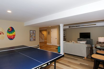 Brewster Cape Cod vacation rental - Finished game room area