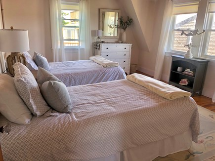Centerville Cape Cod vacation rental - Riverview with two twins, dressers, blackout shades