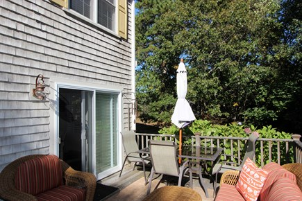 Harwich Cape Cod vacation rental - Slider to deck area