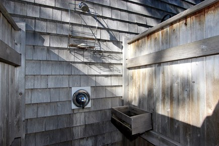 Harwich Cape Cod vacation rental - Outdoor shower