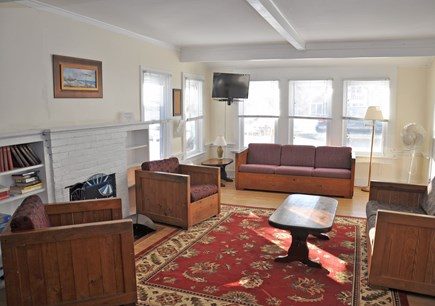 Barnstable, Craigville Cape Cod vacation rental - Interior family room, simply styled and cozy, beautiful views.