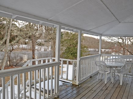 Barnstable, Craigville Cape Cod vacation rental - Porch with seating.
