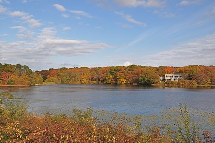 Barnstable, Craigville Cape Cod vacation rental - Sits on a bluff overlooking the salt marsh and Red Lily Pond.