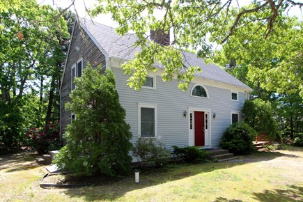Eastham Cape Cod vacation rental - The house is located in a very quiet setting at the end of a road