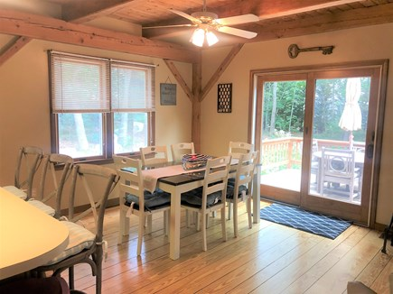 Eastham Cape Cod vacation rental - Dining room with seating for 6 plus 4 at the bar