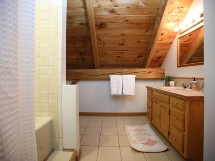 Eastham Cape Cod vacation rental - Bathroom with bathtub on the second floor