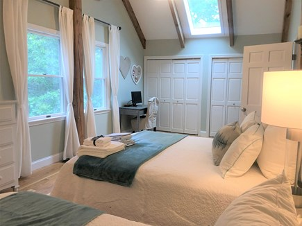 Eastham Cape Cod vacation rental - Bedroom #2: Large master bedroom with Queen plus full bed 2nd fl