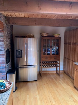 Truro, Bayside, one mile to Co Cape Cod vacation rental - Kitchen, west view