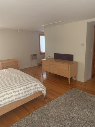 Truro, Bayside, one mile to Co Cape Cod vacation rental - Master, hall to bath on the left