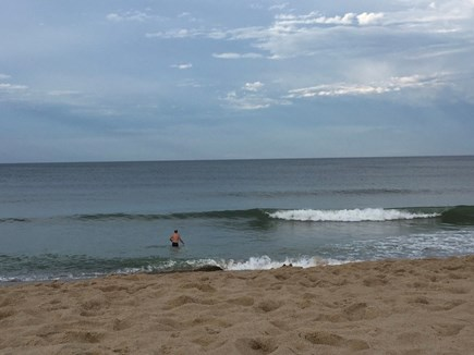 Truro, Bayside, one mile to Co Cape Cod vacation rental - Trying to catch a wave at Ballston Beach