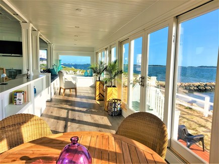 West Yarmouth Cape Cod vacation rental - Indoor porch-extension of living room