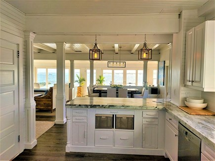 West Yarmouth Cape Cod vacation rental - Kitchen open to dining and living