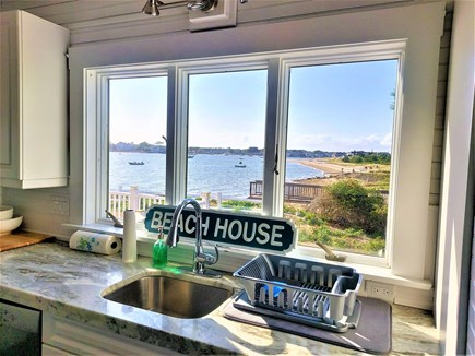 West Yarmouth Cape Cod vacation rental - Wash dishes with a VIEW!