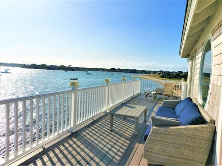 West Yarmouth Cape Cod vacation rental - 2nd floor deck looking west