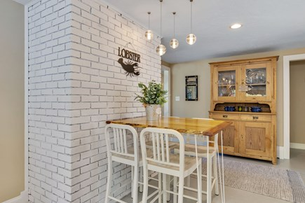 East Orleans Cape Cod vacation rental - dining area in kitchen