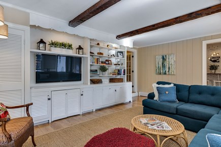 East Orleans Cape Cod vacation rental - Family room view