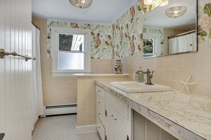 East Orleans Cape Cod vacation rental - Large hall bath which will be updated in the spring.