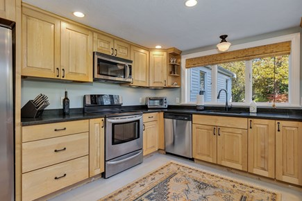 East Orleans Cape Cod vacation rental - Spacious kitchen with electric range.